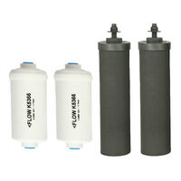 Black Berkey & PF2 Fluoride Filter Replacement Twin Pack