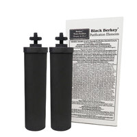 Black Berkey Water Purification Elements 1 Pair (2)