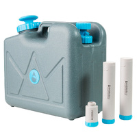 HydroBlu Complete Pack Pressurised 15 Litre Jerry Can Water Filter