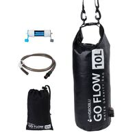 Combo Kit HydroBlu Go Flow Water Gravity Bag with Versa Flow Water Filter Pack