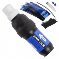 Sawyer Squeeze Water Filter Kit with 2x 1 Litre Water Pouches