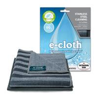 E-Cloth Stainless Steel Eco Cleaning Cloth 2 Pack