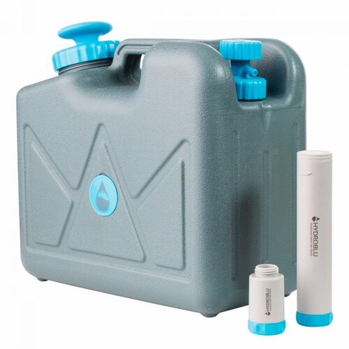 HydroBlu Pressurized 15 Litre Jerry Can Water Filter