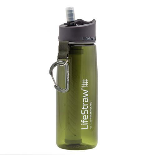 Green LifeStraw Go 2-Stage Filtration Water Bottle