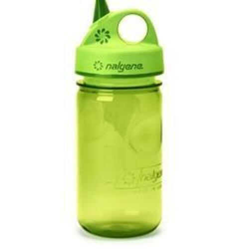 Green Grip-n-gulp Nalgene Toddler Bottle